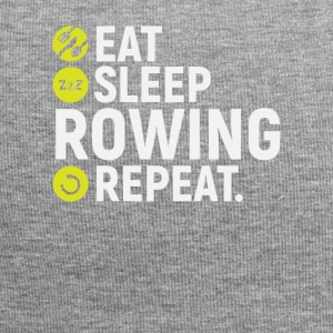 Eat, sleep, row, repeat - gift - Jersey Beanie