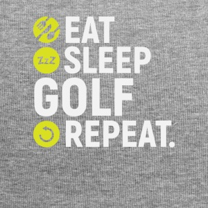 Eat, sleep, golf, repeat - gift - Jersey Beanie