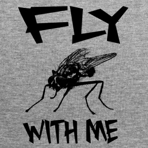 FLY WITH ME - Fly insect word game gift - Jersey Beanie