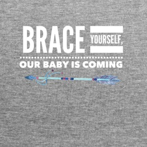 Brace YOurself, our baby is coming - Jersey Beanie