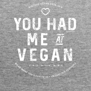 You Had Me At Vegan - Jersey-Beanie