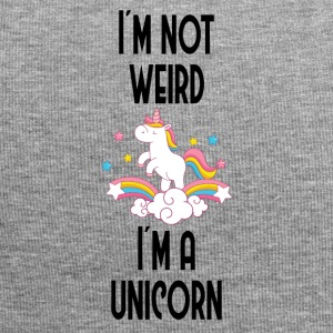 I'm not weird, I'ma unicorn - Jersey Beanie