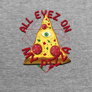 ALL MY PIZZA Eyez On Illuminati Włochy Fun T-Shirt - Czapka krasnal z dżerseju