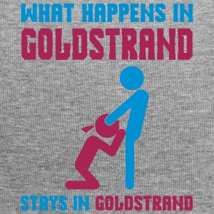 Goldstrand what happens there - Jersey-Beanie