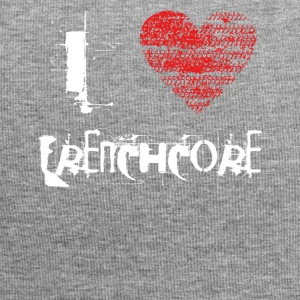 I love Frenchcore hardtech dubstep raver festival - Jersey Beanie