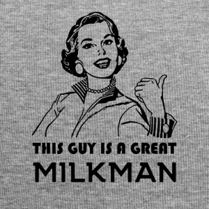 Milkman. Great Milkman. Motivational - Jersey Beanie