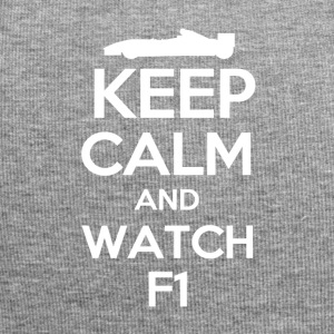 Keep Calm and watch F1 - Jersey Beanie