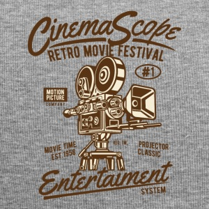 RETRO FILM FESTIVAL - Bioscoop en film shirt design - Jersey-Beanie