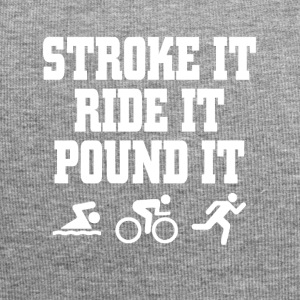 Triathlon shake it ride it pound it - Jersey Beanie