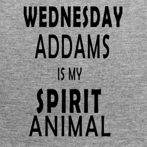 Wednesday Addams is my Spirit animal - Jersey Beanie