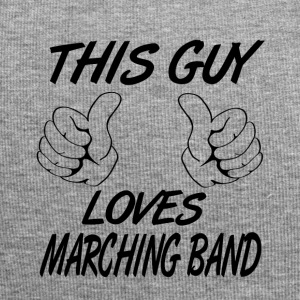 Denne Guy Loves marcherende band - Jersey-Beanie