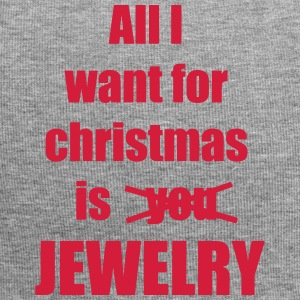 Christmas song saying Jewelry - Jersey Beanie