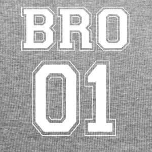 BRO 01 - White Edition - Beanie in jersey