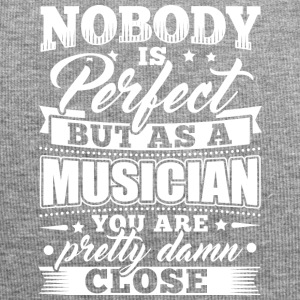 Funny Musiker Music shirt Nobody Perfect - Jersey-Beanie