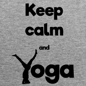 Keep calm and Yoga - Jersey-Beanie