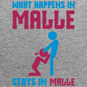 Malle what happens there - Jersey Beanie