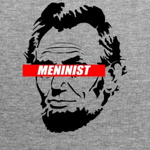 Abraham Lincoln Meninist Conception - Bonnet en jersey