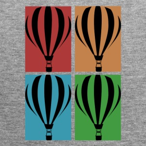 Heteluchtballon - Collage - Jersey-Beanie