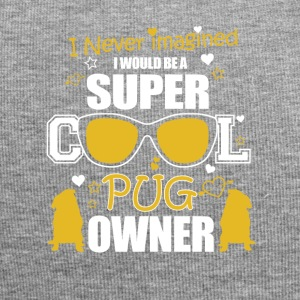 Super Cool Pug Owner - Jersey Beanie