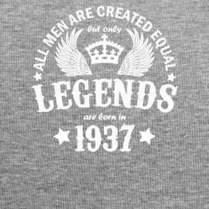 Only Legends Are Born in 1937 - Jersey Beanie