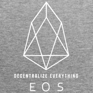 EOS Logo - Decentralize Everything 3 - Jersey Beanie