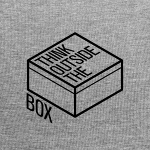 Think outside the box - Jersey Beanie