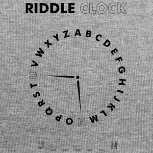 Riddle Clock Unicorn - Beanie in jersey