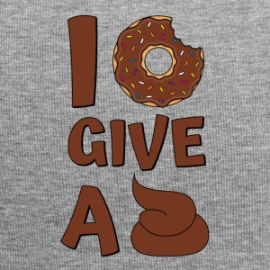 Donut Say I Donut Give A Shit Brown - Jersey Beanie