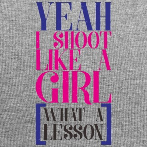 SHOOT LIKE A GIRL - Jersey Beanie