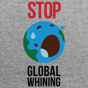 Stop Global Whining! - Beanie in jersey