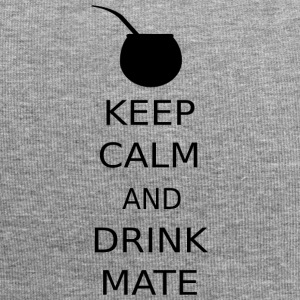 KEEP CALM OG DRIKKE MATE - Jersey-beanie