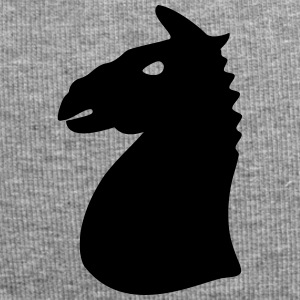 Horse head horse chess game 1c - Jersey Beanie