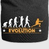 Fechten Evolution - orange/weiss - Jersey-Beanie