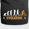 Mountain bike evolution - orange/white - Jersey Beanie