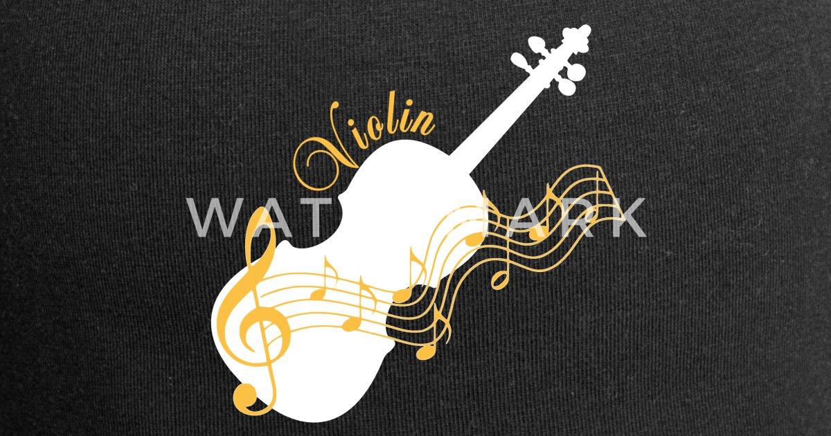 Violine Geigen Musik mit Noten von TinaRina | Spreadshirt