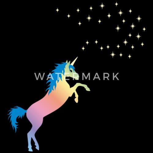 licorne arc en ciel Beanie   Spreadshirt d327dd7e5cd