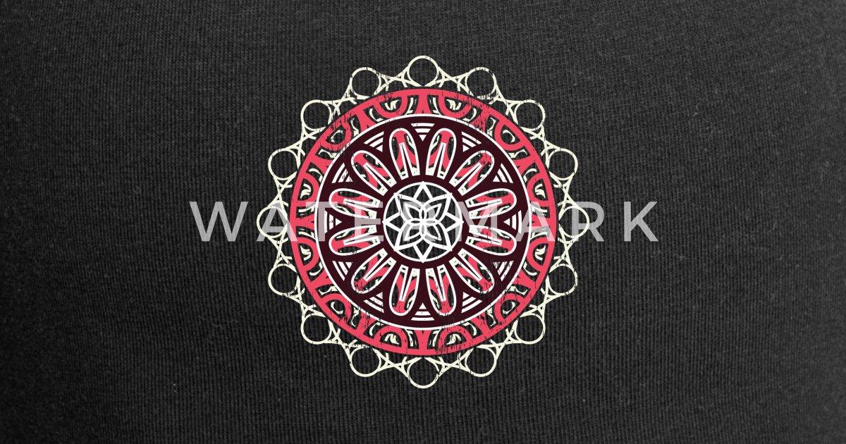 Mandala Geschenk Kinder Weihnachten Indien Beanie Spreadshirt