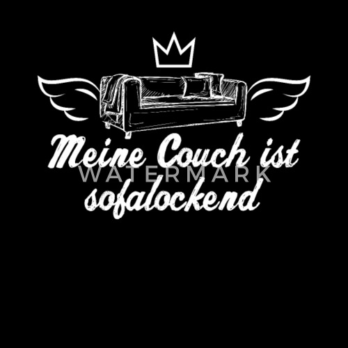 Lustiges Spruche Shirt Spruch Geschenk Couch Beanie Spreadshirt