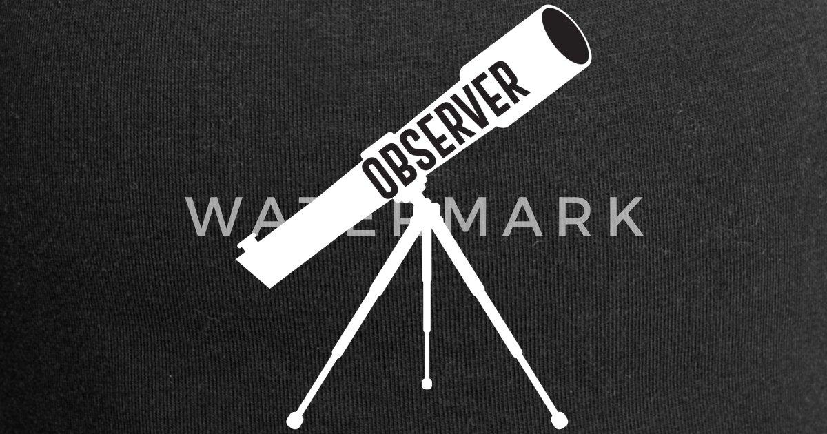 Teleskop astronomie wissenschaft weltraum liebe beanie spreadshirt