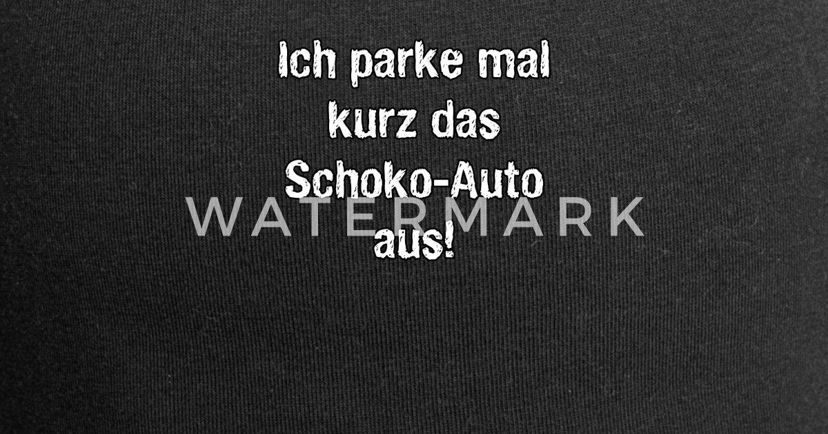 Schoko Auto Lustiger Spruch Geschenk Beanie Spreadshirt