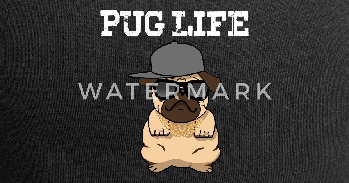 Pug Life Pug Beanie  7037ea7072c