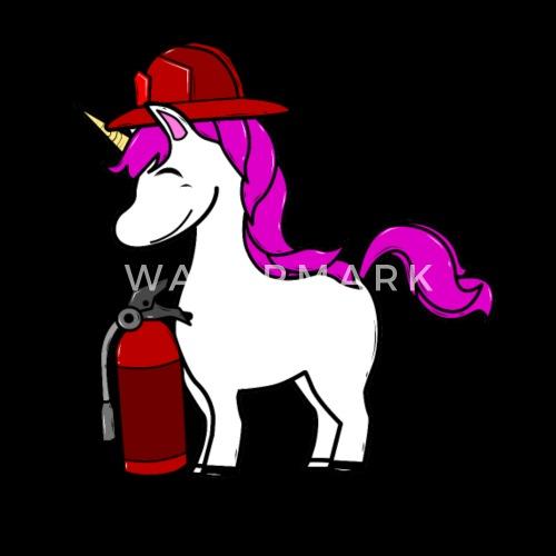 Cadeau de paillettes de licorne · Extincteur d incendie Beanie   Spreadshirt 5a2493a7a6b