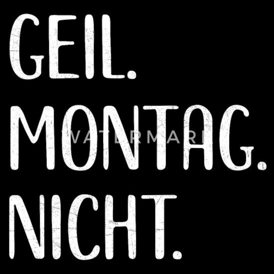 Lustiges Montag Wochentag Sprüche Fun Geschenk Beanie