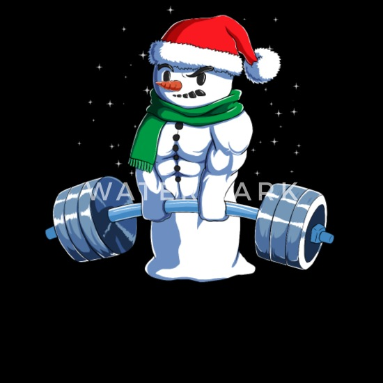 Merry liftmas da Uomo Divertente Natale Felpa GYM TRAINING TOP Sollevamento Pesi