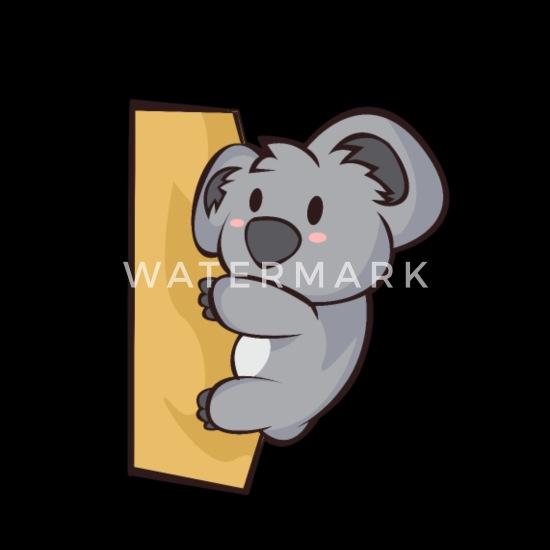 Chibi Comic Koala Bär Kawaii Niedlich Geschenk Beanie Spreadshirt