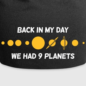 Back Then We Had 9 Planets! - Jersey Beanie