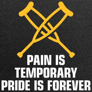 Pain Is Temporary. Pride Is Forever! - Jersey Beanie