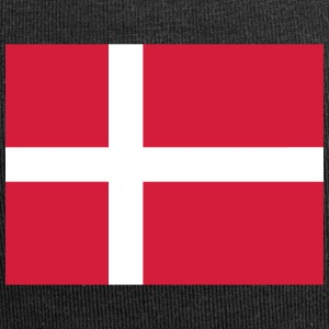 Danmarks nationale flag - Jersey-Beanie