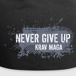 never give up - Beanie in jersey