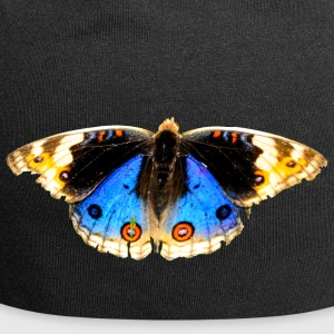butterfly butterfly blomster blomster - Jersey-beanie